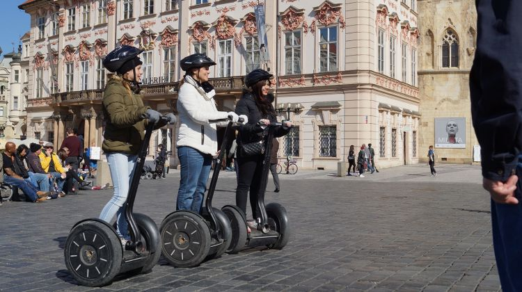 Prague castle tour on Segway