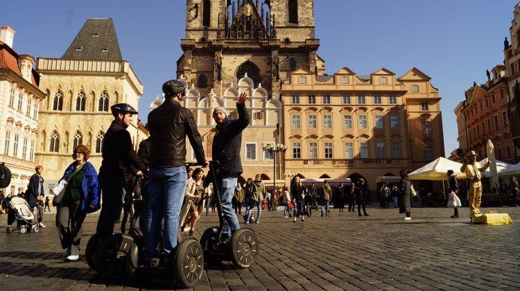 Prague city center tour on Segway