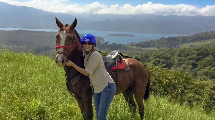 Private Arenal Volcano Horseback Riding and Hot Springs