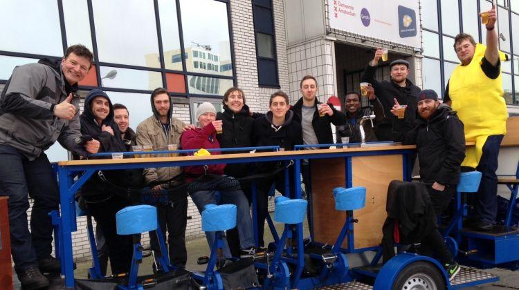 Private Beer Bike Amsterdam