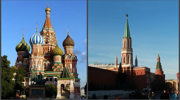 Private Shore Visa-Free Moscow Overall Tour (Thursday)
