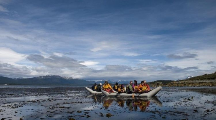 Private Ushuaia National Park with Trekking & Canoes