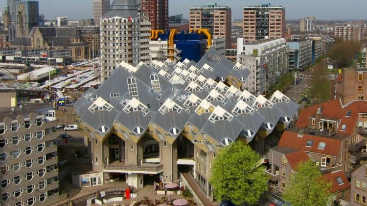 Private walking tour Rotterdam