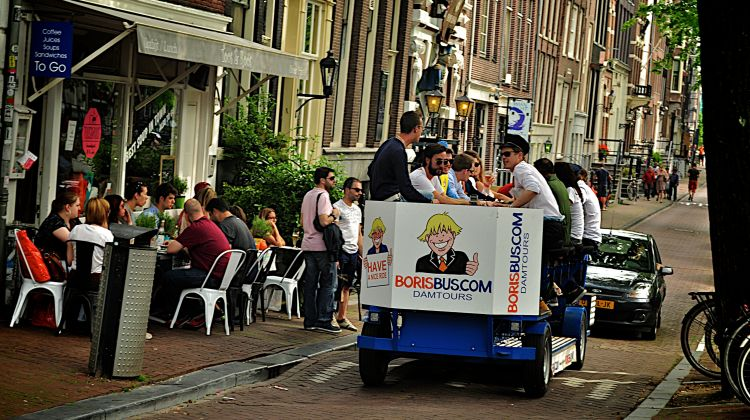 Prosecco group bike amsterdam