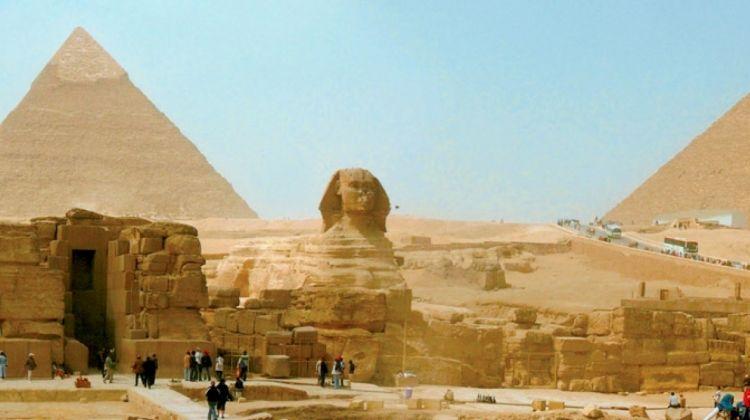 Pyramids, Beaches & Desert