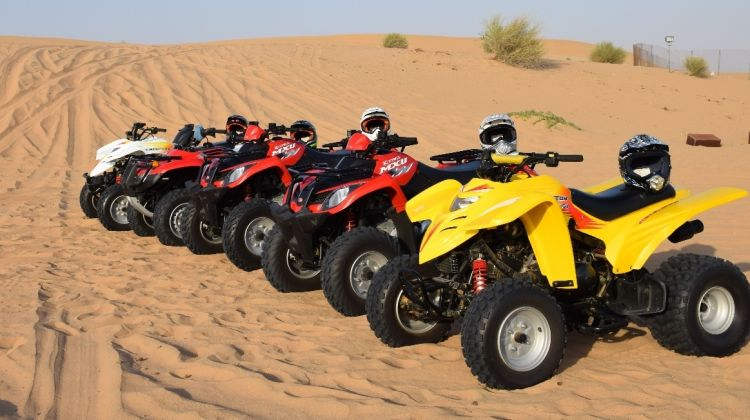 Quad bike Experience in the Desert with Refreshments