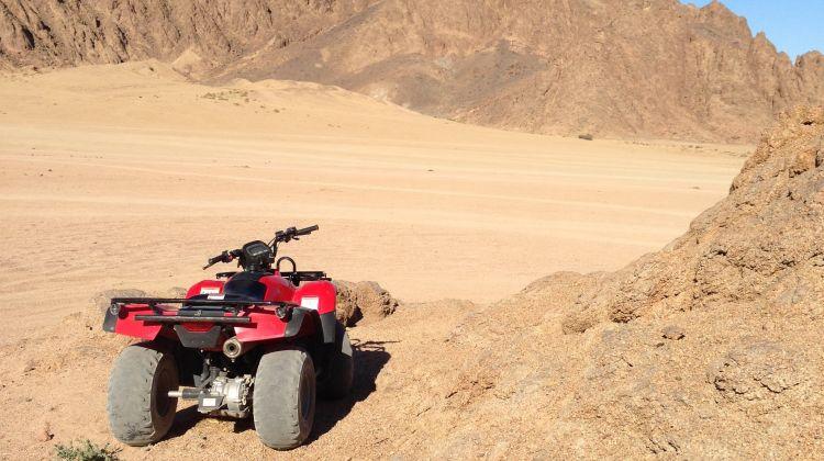 Quad Biking in Sharm El Sheikh Desert