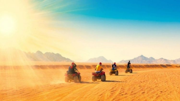 Quad Biking Tour in Hurghada