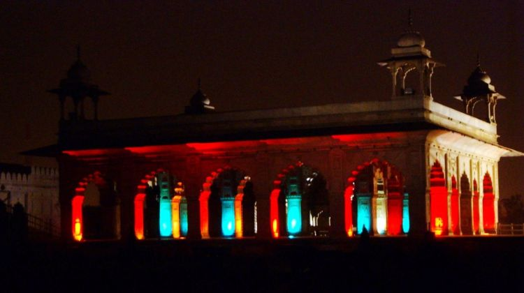Red Fort Sound and Light Show with Dinner