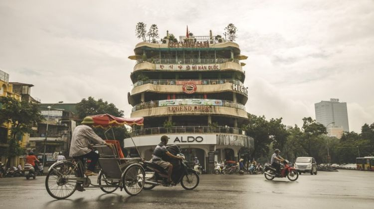 Red River Delta from Hanoi by Bike