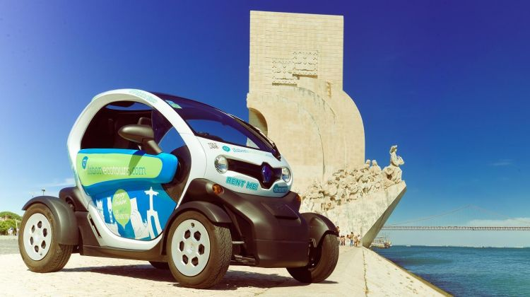 Rent a Two Seater Twizy for a Discovery Tour