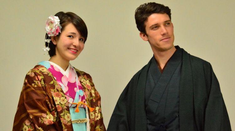Rickshaw Tour and Kimono Dressing in Tokyo