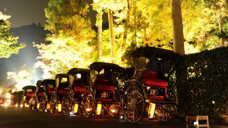 Rickshaw tour in Arashiyama, Kyoto
