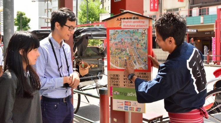 Rickshaw Tour in Tokyo