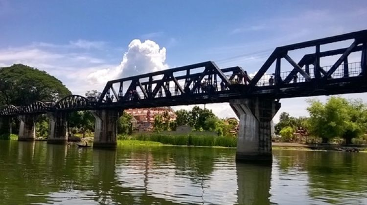 River Kwai Bridge + Train Ride + Boat Ride