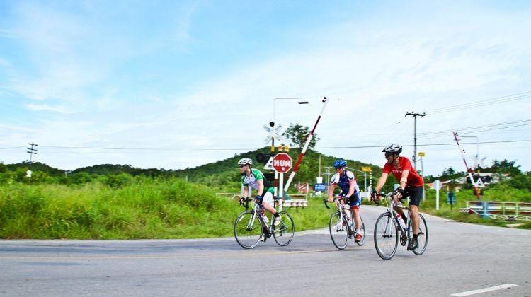 Road Biking from Bangkok to Ayutthaya