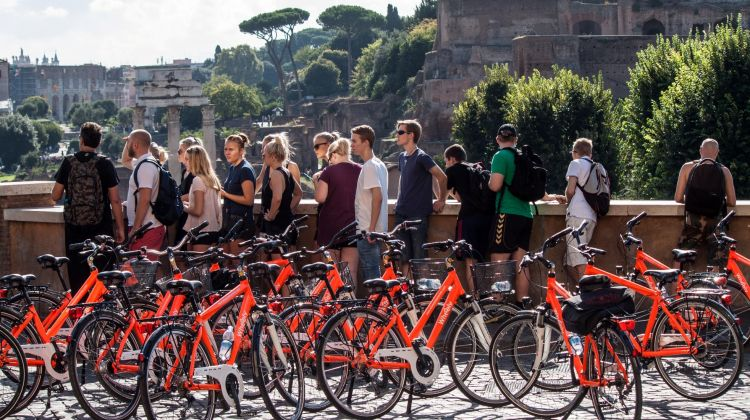 Rome Bike Tour: Full Day Panoramic Views