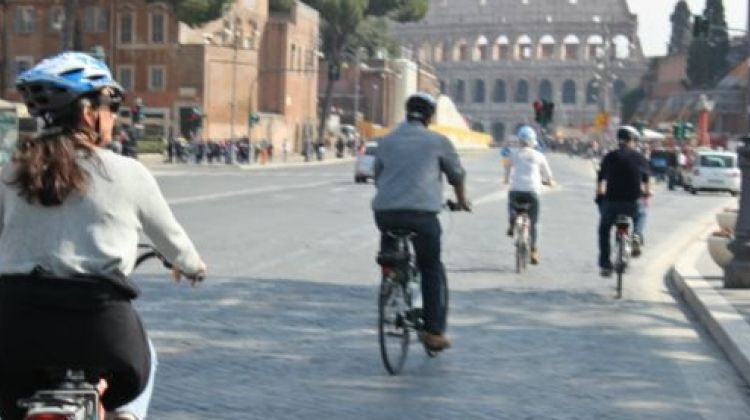 Rome by electric bicycle private tour