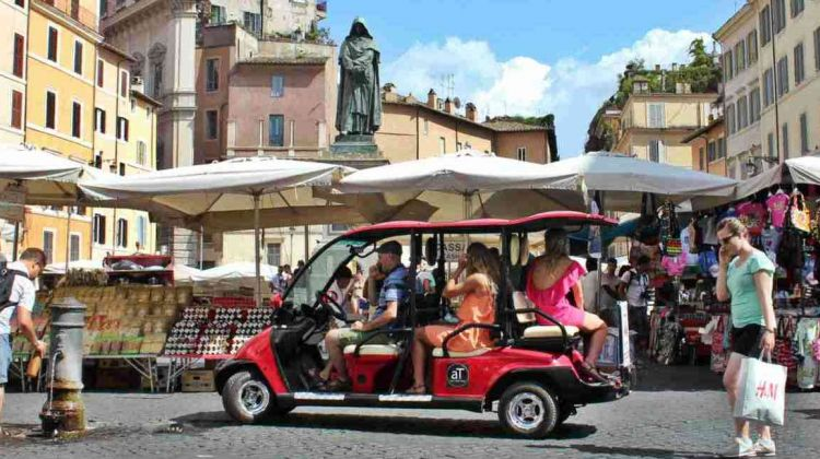 Rome by golf-cart private tour