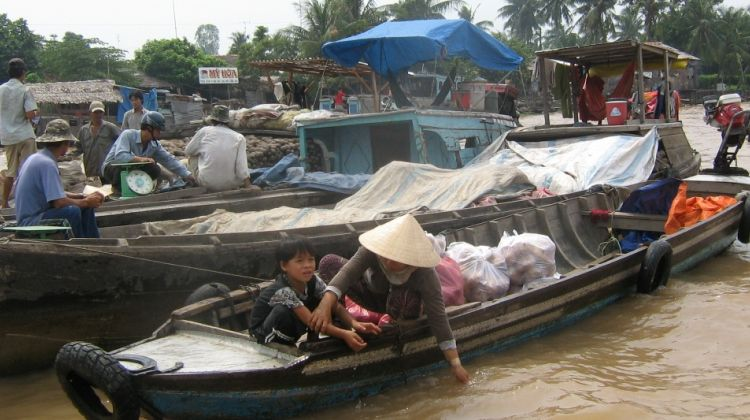 RTV06: Mekong Detla - Cai Be Floating Market full day
