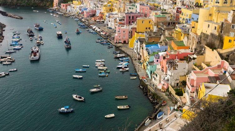 Sail Italy: Procida to Amalfi