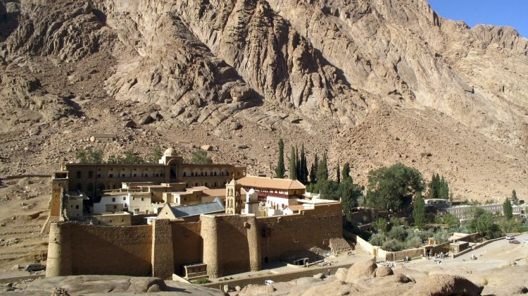 Saint Catherine Monastery from Cairo