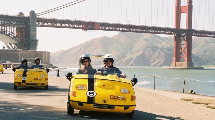 San Francisco Golden Gate Bridge 2 hour loop