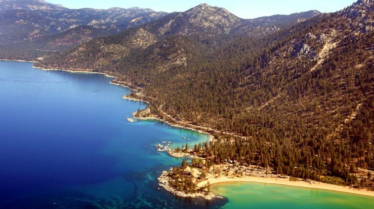Sand Harbor Helicopter Tour