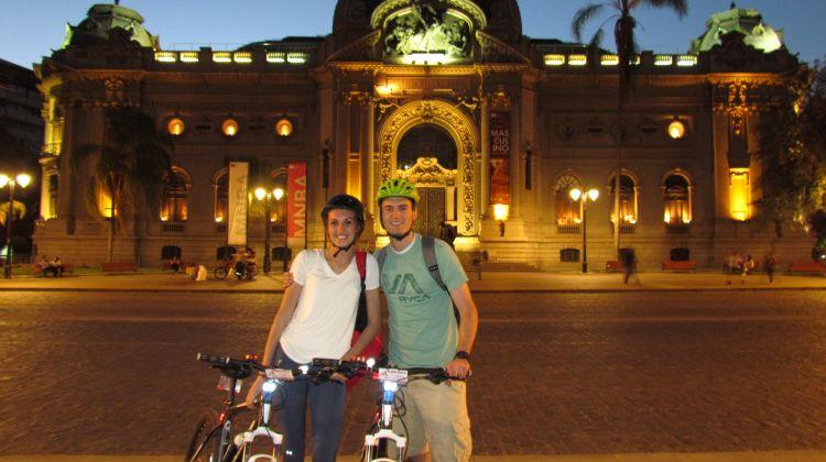 Santiago by Night Bike Tour