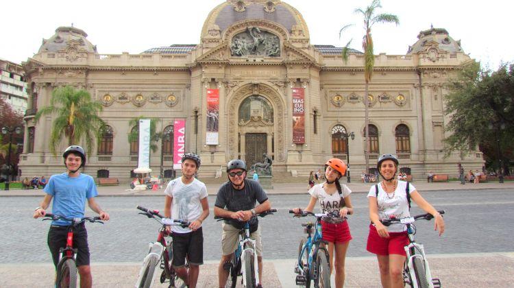 Santiago Cultural Bike Tour