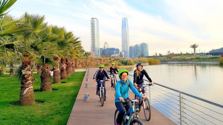 Santiago Panoramic Bike Tour