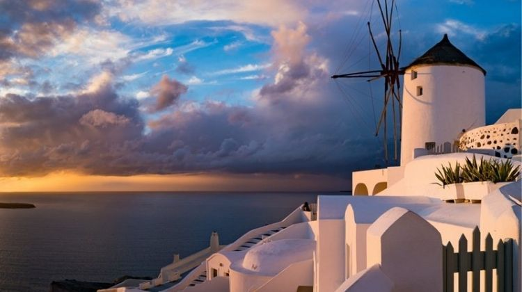 Santorini to Athens