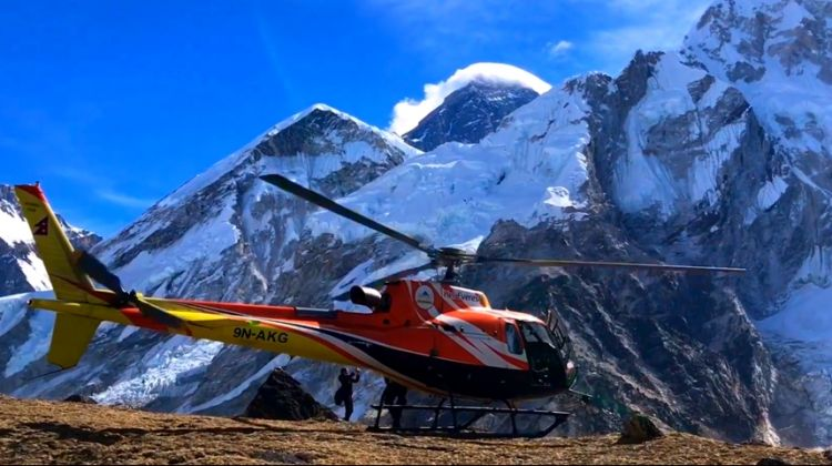 Scenic Mount Everest Helicopter Tour