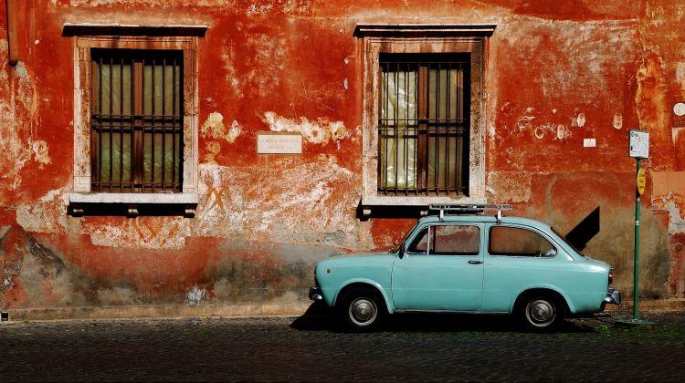 Segwaying through the Trastevere neighbourhood in Rome