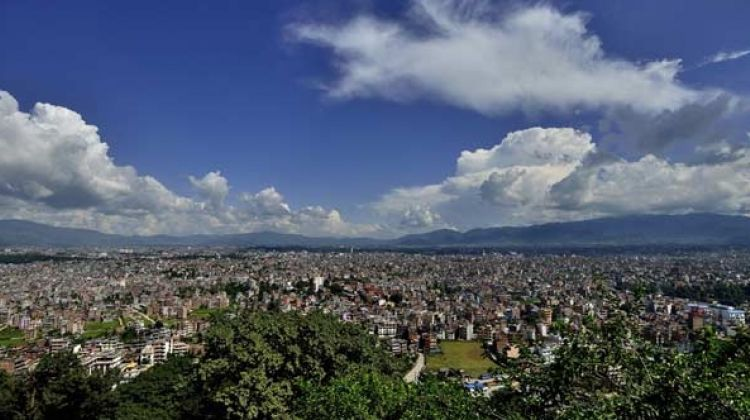 Short trek in Kathmandu valley