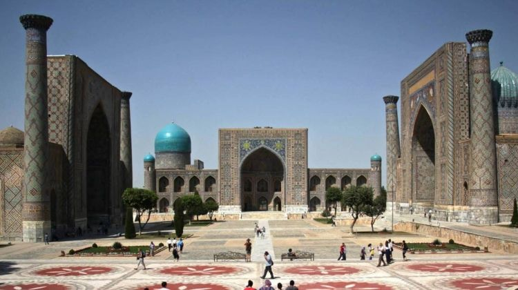 Silk Road to Samarkand via Kashgar