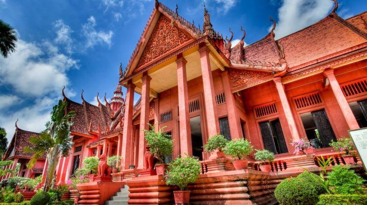 Silver Pagoda, Royal Palace, Toul Sleng from Phnom Penh