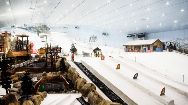Skip-the-line: Ski Dubai Tickets