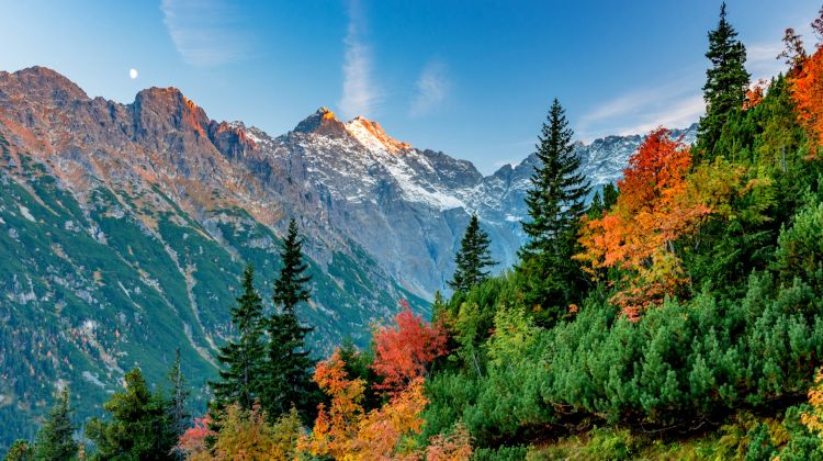Slovakian Alps High Tatras Self Guided Walking Holiday By The Natural Adventure Company