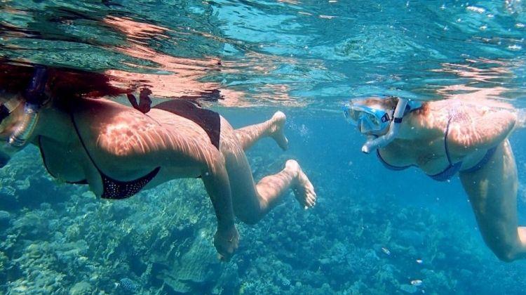 Snorkeling in Egypt (Dahab)