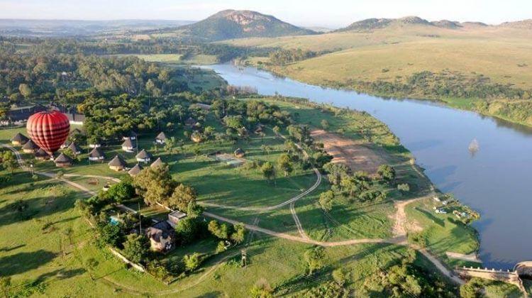 Stellenbosch Hot Air Balloon & Champagne