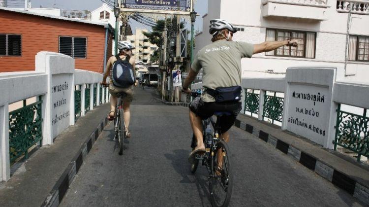 Streets of Bangkok: A Bike Tour
