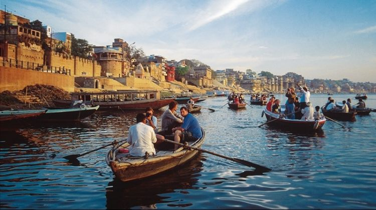 Sunrise Boat Cruise on the River Ganges