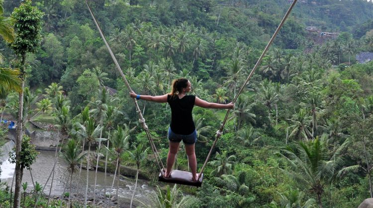 Swing & Raft in Bali