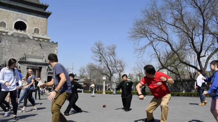 Taiji Lesson and Local Breakfast in Beijing