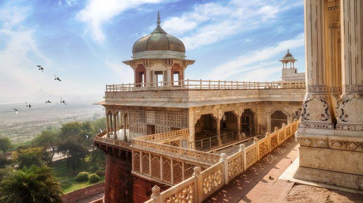 Taj Mahal & Agra Fort Day Tour From Jaipur