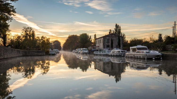 The Canal du Midi  (Castelnaudary to Homps)