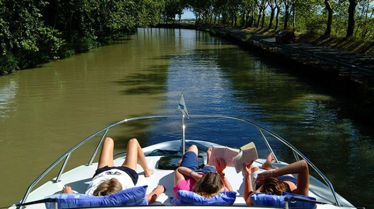 The Canal du Midi  (Homps to Castelnaudary)