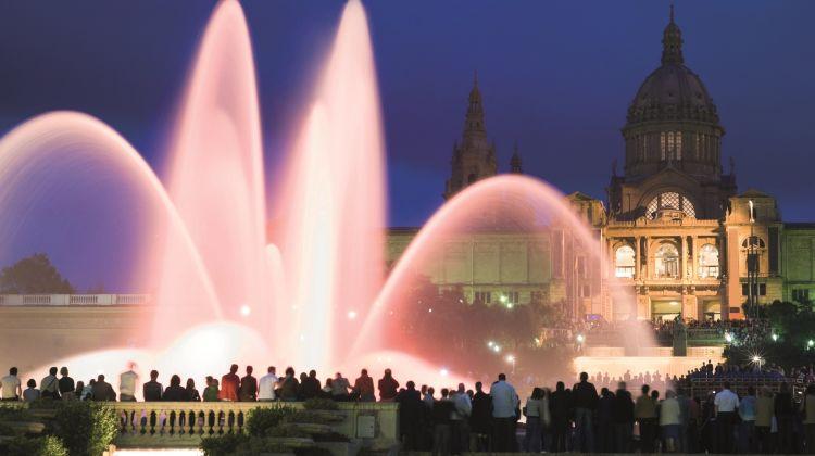 The Magic Fountain Night Tour
