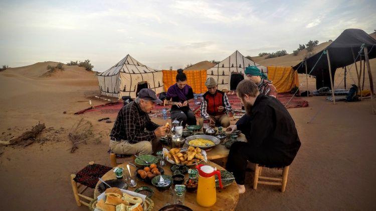 The trans-Saharan caravan Adventure